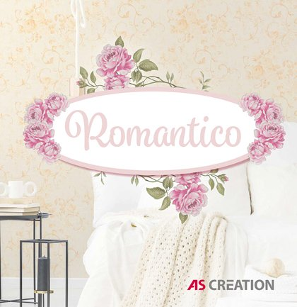 Nowa kolekcja AS Creation: Romantico