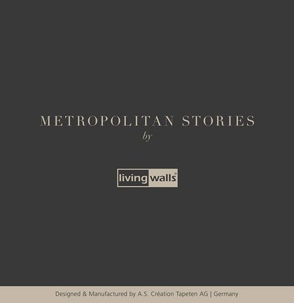 Nowa kolekcja AS Creation: Metropolitan Stories