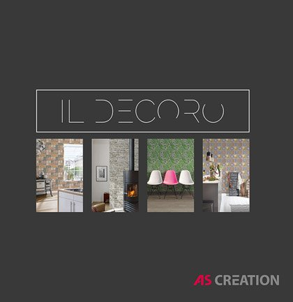 Nowa kolekcja AS Creation: Il Decoro